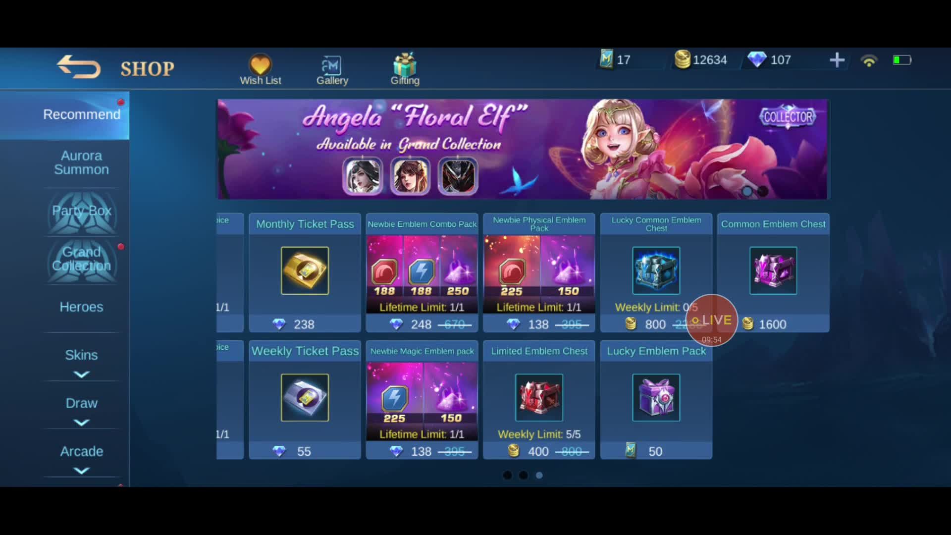 Mobile Legends Live / Twitch Titan @Gold Role Give Away on 13-Apr-21-18:06:40